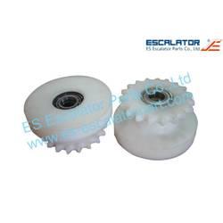 ES-OTP85 OTIS Sheave Drive Sprocket G02215AB20 6207