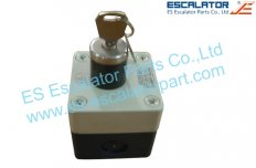 ES-SC084 Schindler SWE Stop Key Switch