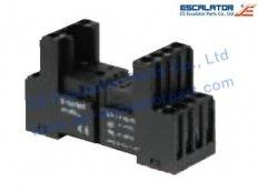 ES-SC243 Schindler Pedestal F. Micro Relay Socket NAA462438