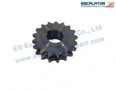 ES-SC385 Schindler Sprocket SCT394001