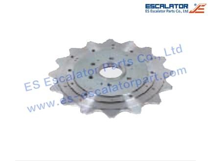 ES-SC395 Schindler Step Sprocket SWK770511
