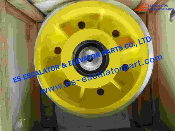 Thyssenkrupp Rope Pulley Assy 200163378