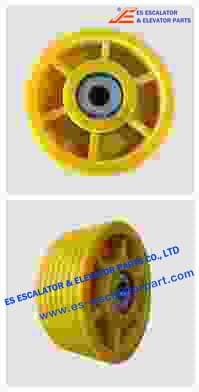 Rope Pulley Assy 200256518