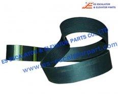 Thyssenkrupp Handrail V-Belt 80070300  L=1841mm