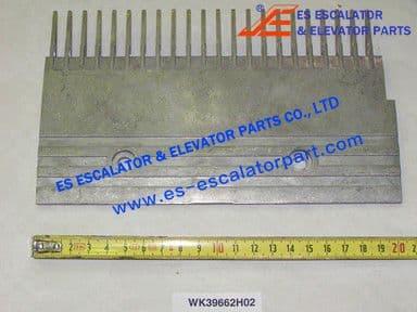 KONE WK39662H02 22-PIN RIGHT STEP COMB W=203.65MM