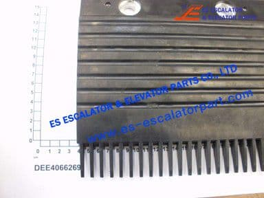 KONE DEE4066269 STEP COMB REWORK BLACK PLASTIC C
