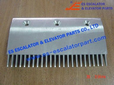 KONE KM1331783 Comb Plate CENTRAL 205X114MM