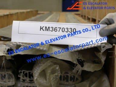 KONE KM3670330 PROFILE 6000X128MM ALMGSI0.5F22EQ RAW