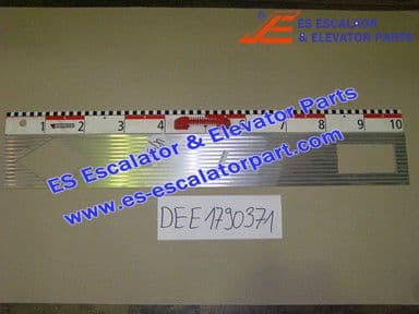 KONE DEE1790371 Comb Plate LINING-TYP 100-ALMGSI0.8