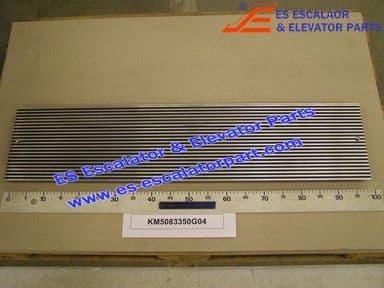 KONE KM5083350G04 PLATE E3X B-996 L-227 SW ANOD LV2265268