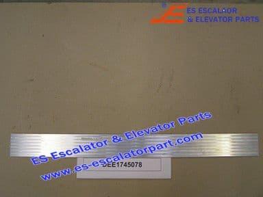 KONE DEE1745078 Comb Plate LINING-NZ 1726906-3-ALMGSI0