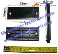 OTIS GAA385GX1 STEEL BELT SLIDER