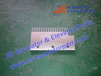 KONE KM1331782 Comb Plate RIGHT 200X114MM