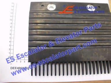 KONE DEE4066268 STEP COMB REWORK BLACK PLASTIC B