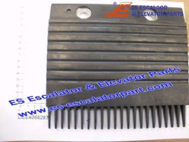 KONE DEE4066267 STEP COMB REWORK BLACK PLASTIC A