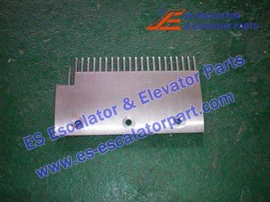 KONE KM1331753 Comb Plate LEFT 200X114MM