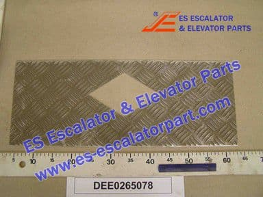 KONE DEE0265078 Comb Plate LINING-238X604-ALMGSI1F32