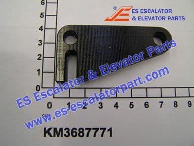 KONE KM3687771 LEVER 69X34X8MM PE SW R09