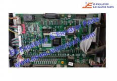 HYUNDAI Elevator inverter control card HIVD 900G B/D REV 5.4