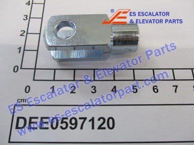 DEE0597120 FORKHEAD 16X8MM ST50 2 DIN71752 G