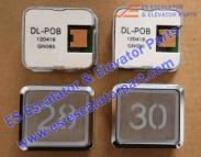 Hitachi DL-POB button STST.