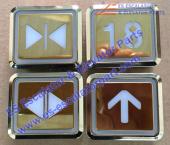DL-POB button Golden