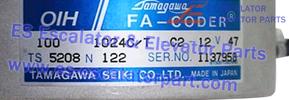 Hitachi TS5208N122 encoder