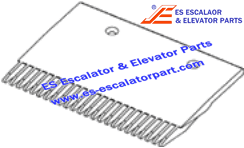 OTIS GAA453BV5 Comb Aluminum Finish P/Ns