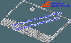 OTIS GAA453BV6 Comb Aluminum Finish P/Ns