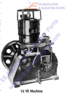 OTIS 222KA5 Machines Coil Brake