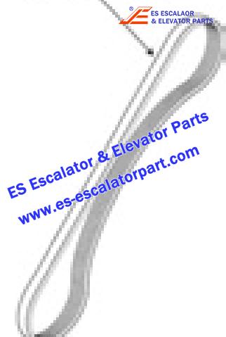 OTIS YYJ0717B2 Handrail Drive Components