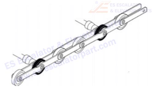OTIS GBA26150AH3 Step Chains