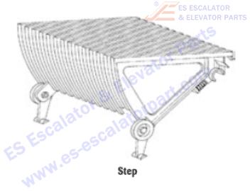 OTIS A6291G13 Steps
