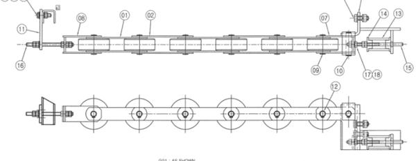 S613C966 Belting device