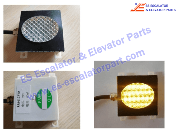 Otis XAA417AV2 comb plate light