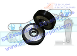 Roller And Wheel NEW DEE4001009