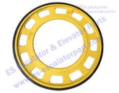 OTIS Escalator GAA265AP1 Roller And Wheel