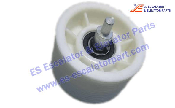 Thyssenkrupp Escalator rollers 17091015 6204RSx2