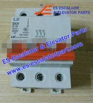 Escalator Part BKN D16A Switch and Board