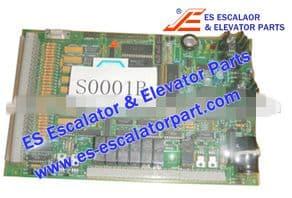 Escalator Part M-F 387600 Switch and Board