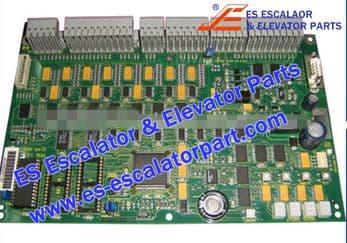 Schindler Refacciones de Escaleras Mecánicas NR-580810 Interruptor y tablero