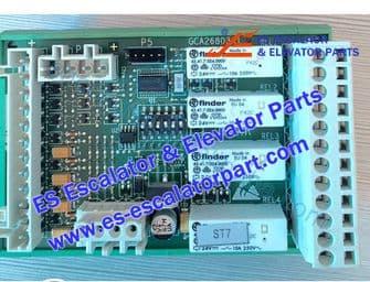 Refacciones de Escaleras Mecánicas RS4R Interruptor y tablero