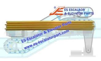 Refacciones de Escaleras Mecánicas CNDM0001 Demarcación de Peldaño Nuevo MODELO
