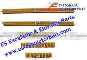 ESOTIS Escalator Part GO455G4 Step Demarcation NEW