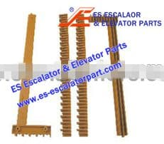 Escalator Part J61900B202 Step Demarcation