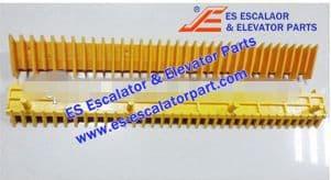 XIZI OTIS Refacciones de Escaleras Mecánicas L48034049A Demarcación de Peldaño Nuevo MODELO