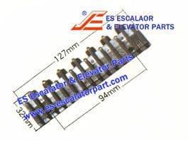 XIZI OTIS Refacciones de Escaleras Mecánicas L57332117A Demarcación de Peldaño Nuevo MODELO