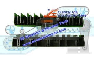 XIZI OTIS Refacciones de Escaleras Mecánicas L57332118A Demarcación de Peldaño Nuevo MODELO