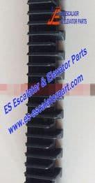 XIZI OTIS Refacciones de Escaleras Mecánicas L57332118B Demarcación de Peldaño Nuevo MODELO