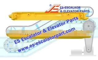 XIZI OTIS Refacciones de Escaleras Mecánicas LL28034033 Demarcación de Peldaño Nuevo MODELO